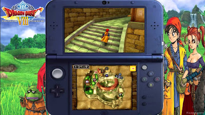 Get Dragon Quest VIII western Nintendo 3DS version earlier VPN