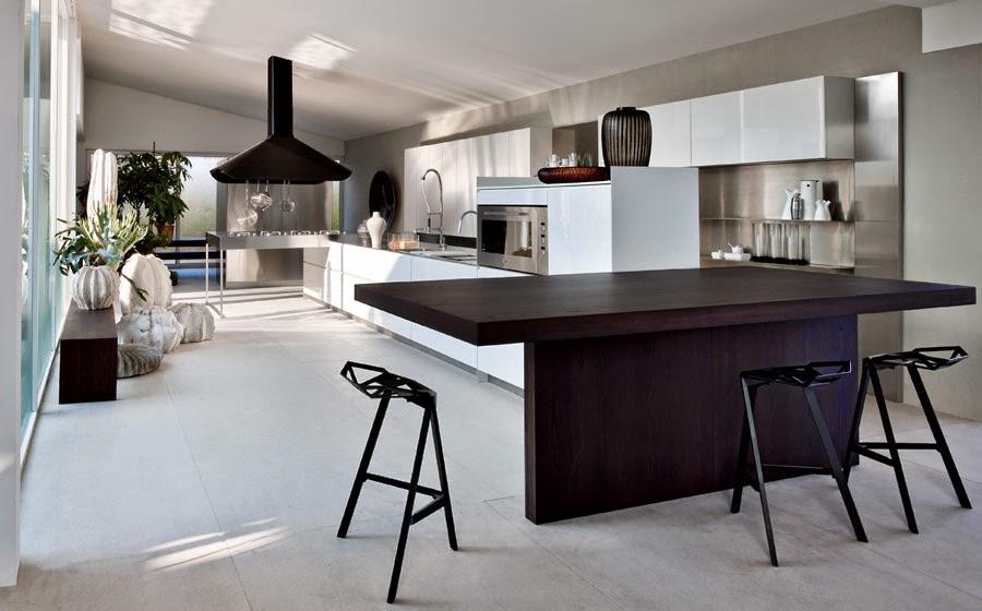 Diseño de Cocinas Modernas Modulares con mucha Elegancia | Cocina y ...
