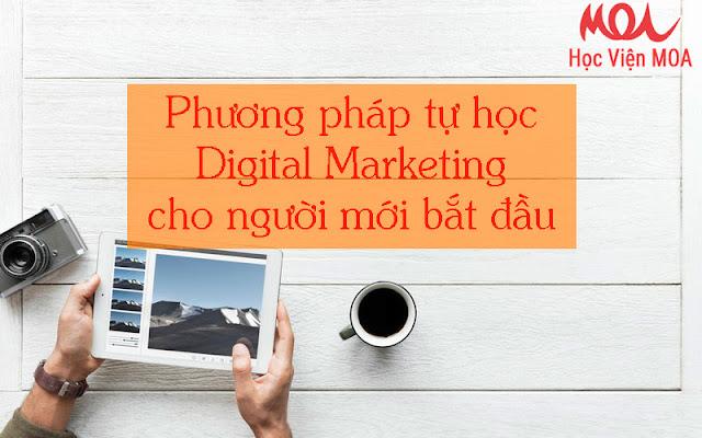 Làm thế nào để tự học Digital Marketing