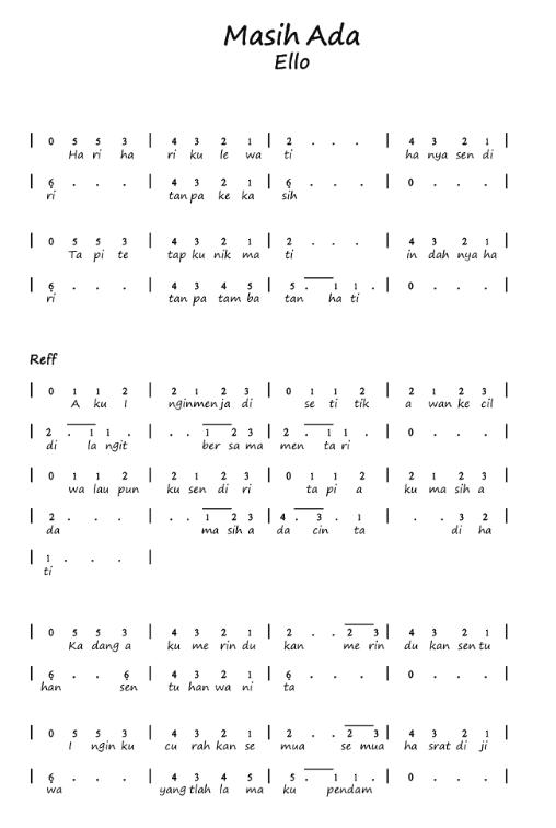 Download Lagu Ello Masih Ada : download, masih, Masih, Dunia, Angka