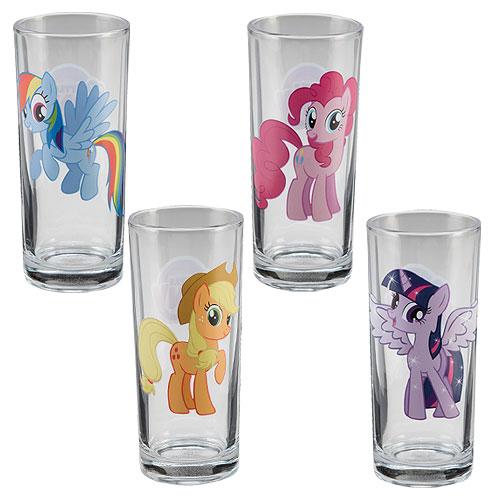 My Little Pony Pint Glass Freindship Magic 16 oz