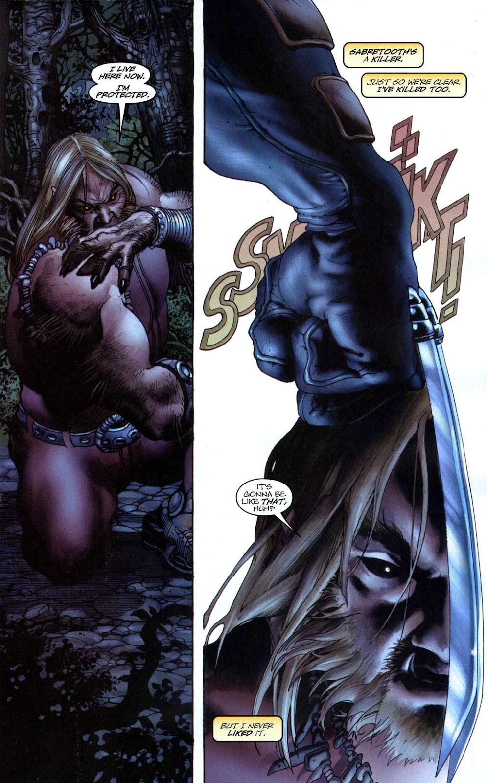 Read online Wolverine (2003) comic -  Issue #50 - 9