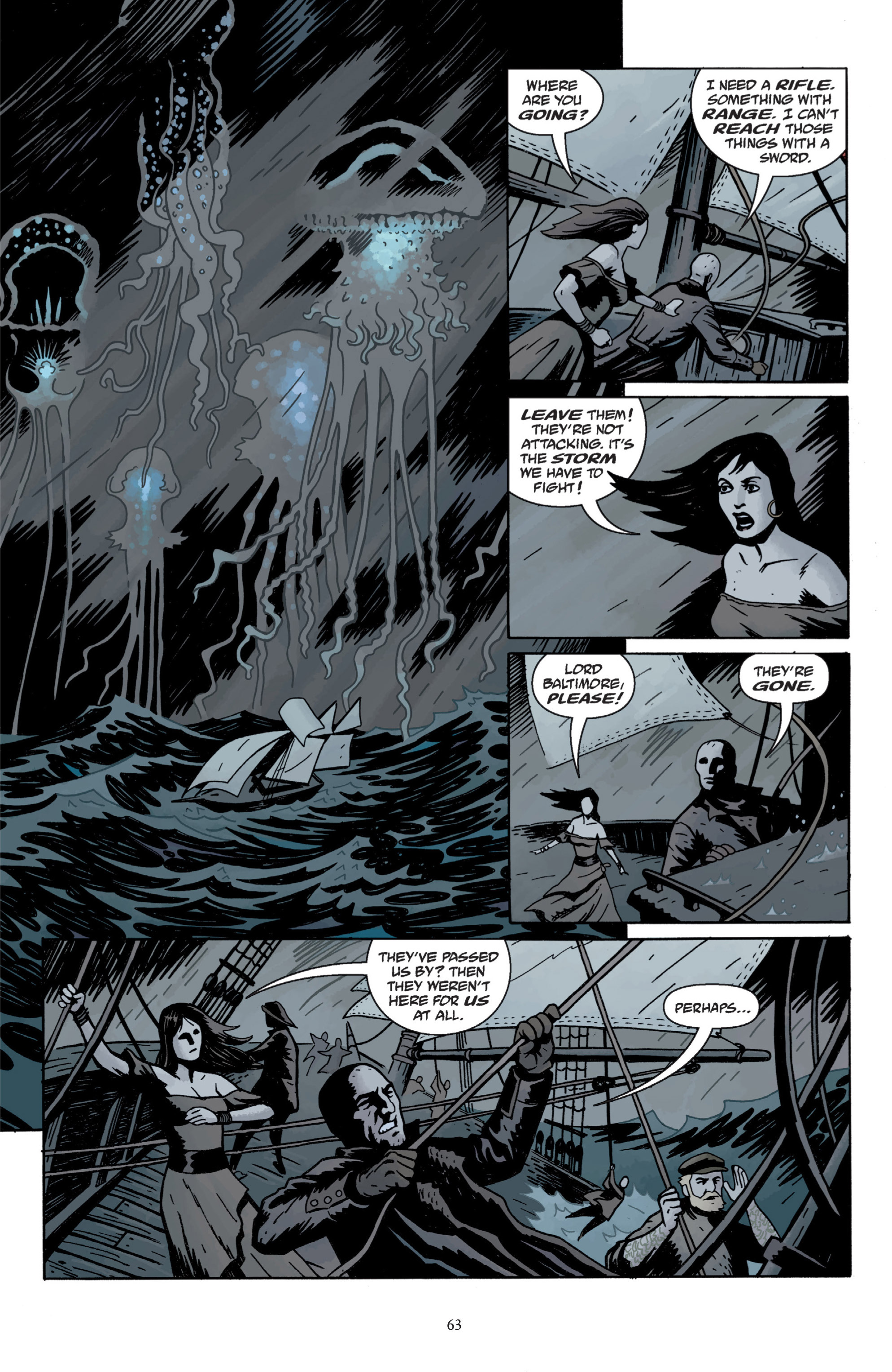 Read online Baltimore: The Plague Ships comic -  Issue # TPB - 65