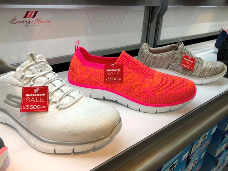 osaka shopping rinku premium outlets skechers sale
