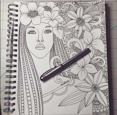 Panduan Membuat Doodle Art Untuk Pemula