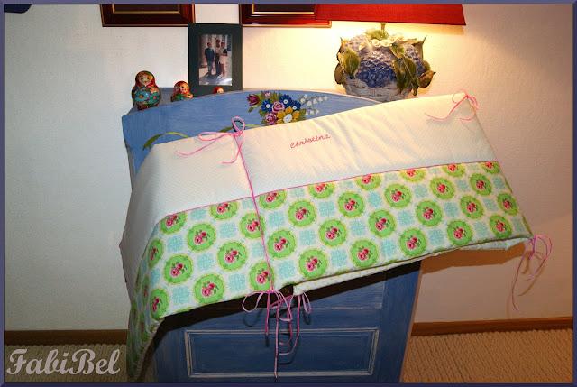 Comment réaliser un tour de lit pour bébé