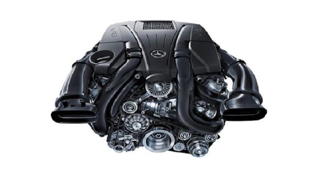 Động cơ Mercedes S500 4MATIC Coupe vận hành mạnh mẽ