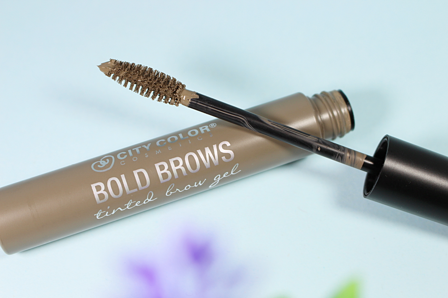 City Color Bold Brow Tinted Brow Gel 'Taupe' liz breygel makeup cosmetics review before after demo test drive affordable budget friendly brand