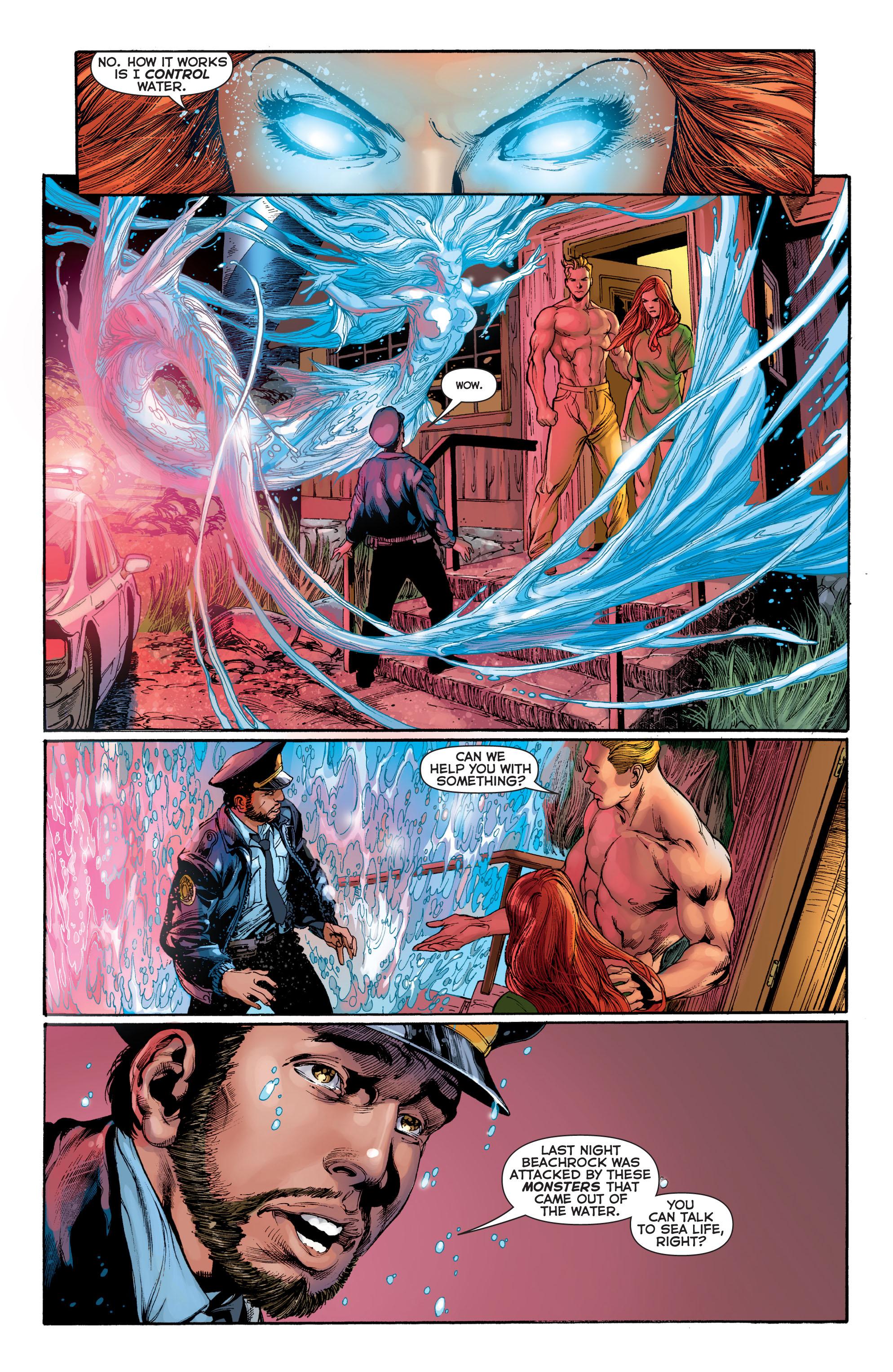 Read online Aquaman (2011) comic -  Issue #2 - 10