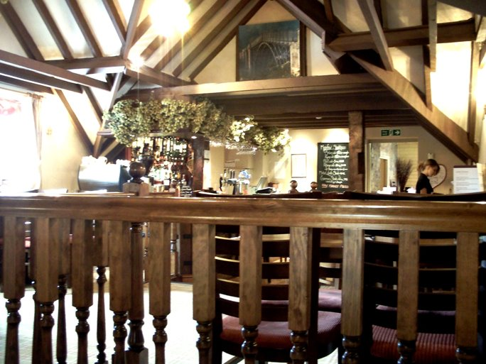 The Bar at The Meadow Inn Ironbridge