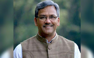 Chief Minister of Uttarakhand Trivendra Singh Rawat since March 2017