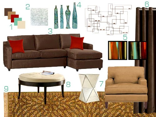 living room design chocolate brown couch luxury rooms 2017 andrea espach design: red couches?