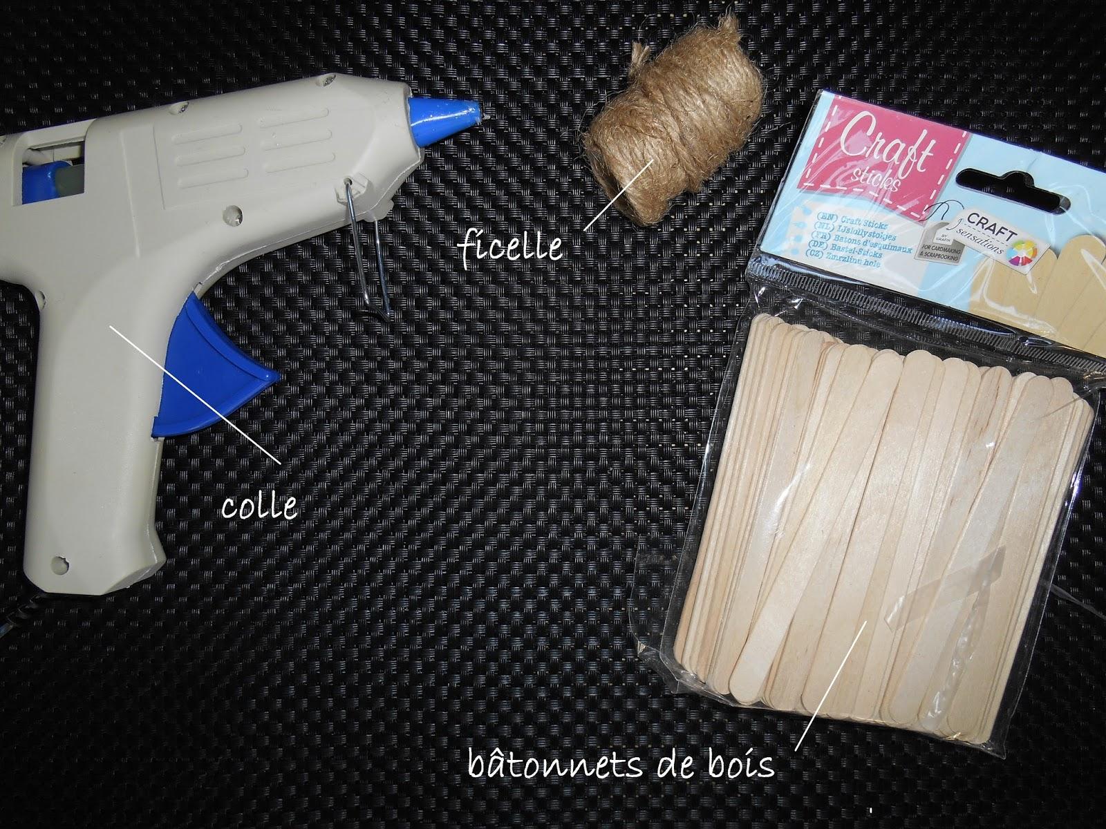 d co cadre en b tonnets de bois by ma lae. Black Bedroom Furniture Sets. Home Design Ideas