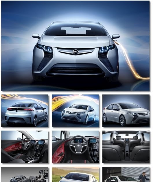 The Best Wallpaper Blog: 2012 Opel Ampera Cars Wallpapers