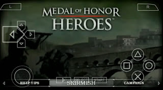 MEDAL OF HONOR HEROES PPSSPP ISO SAVEDATA