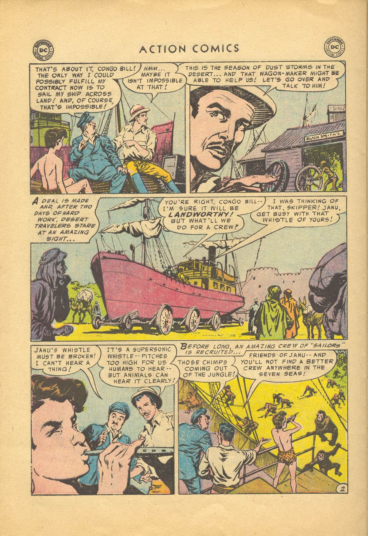 Read online Action Comics (1938) comic -  Issue #209 - 28