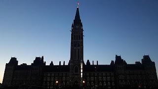 Parlamento do Canadá, em Ottawa