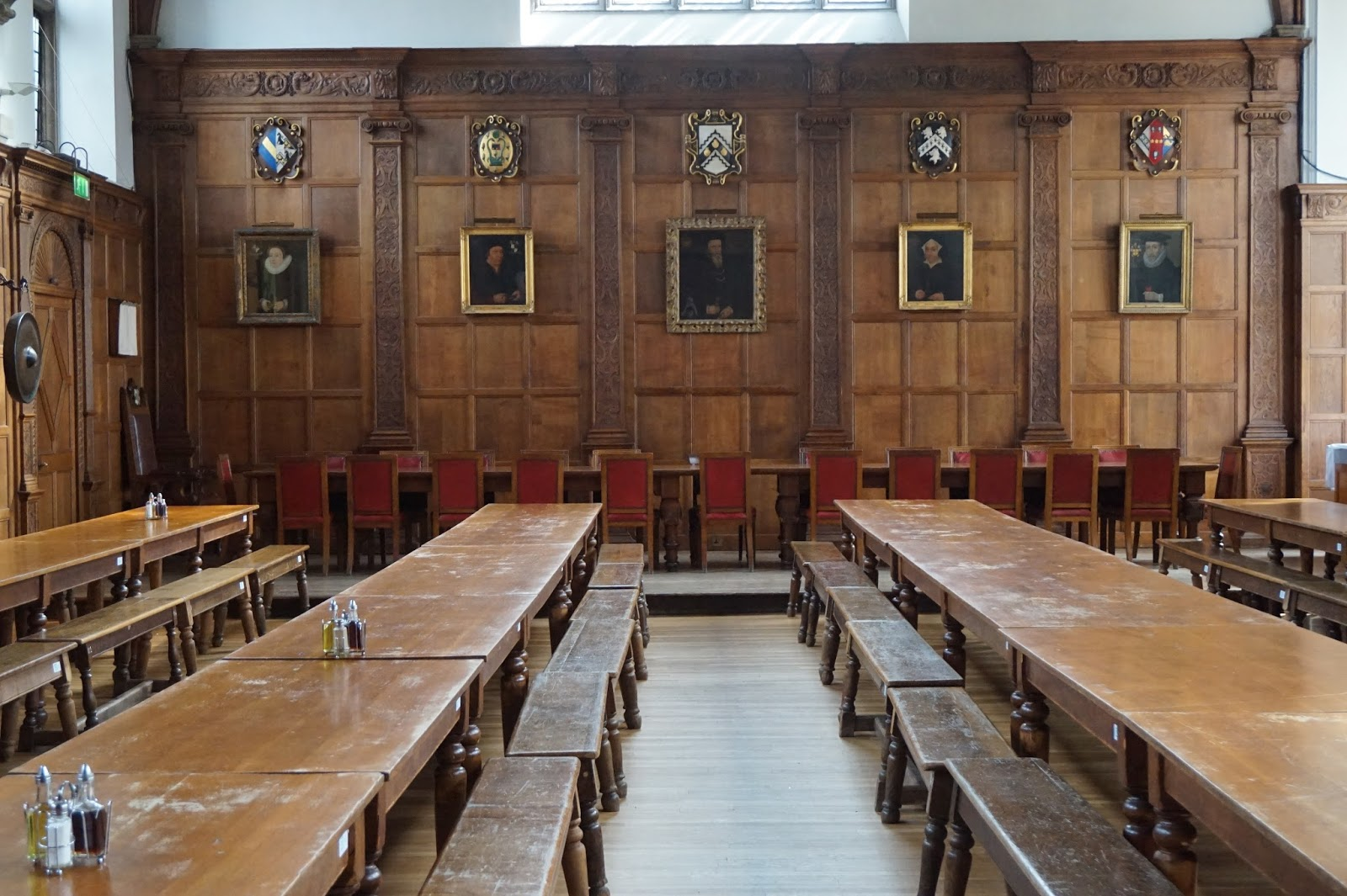 A mathematical history tour john venn caius dining hall looking toward high table pooptronica Images