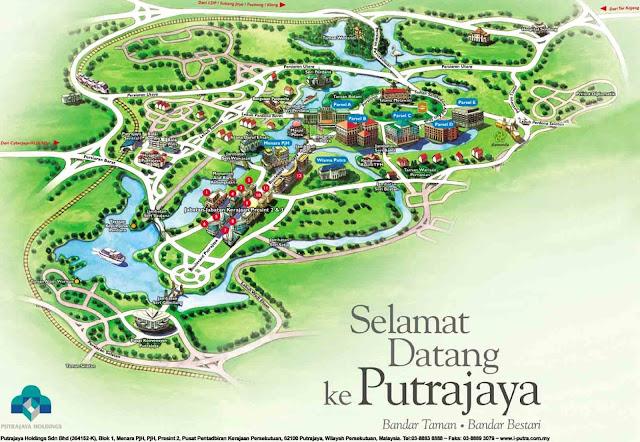 Senarai Lokasi Menarik Di Putrajaya