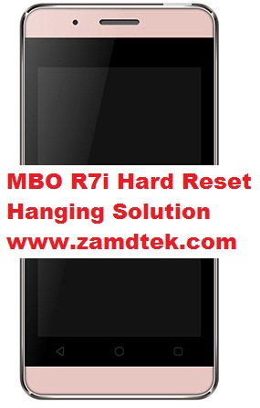 MBO R7i Hard Reset and hanging solution
