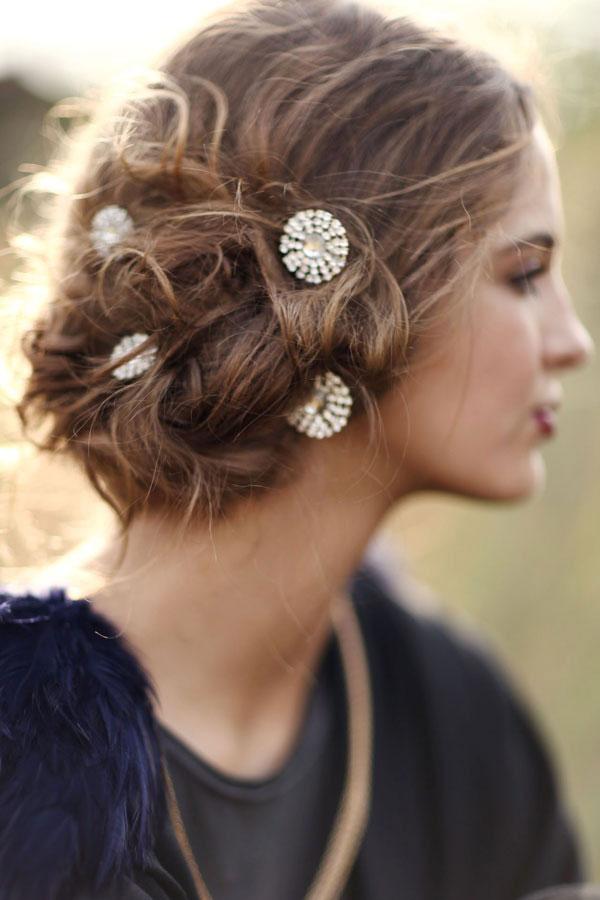 Peinados de fiesta con el pelo suelto YouTube - peinados con rizos para fiestas