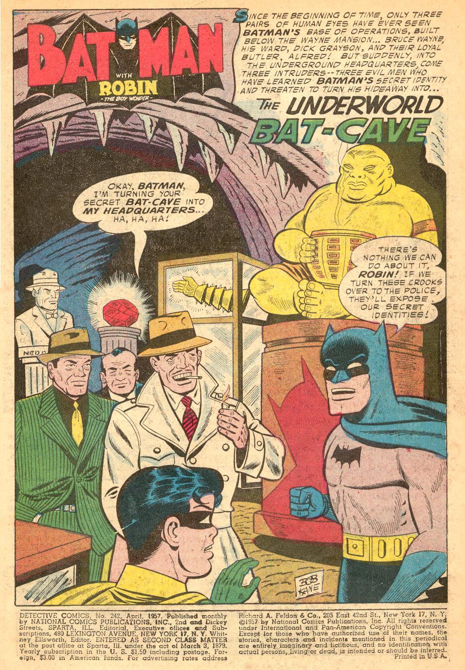 Read online Detective Comics (1937) comic -  Issue #242 - 3