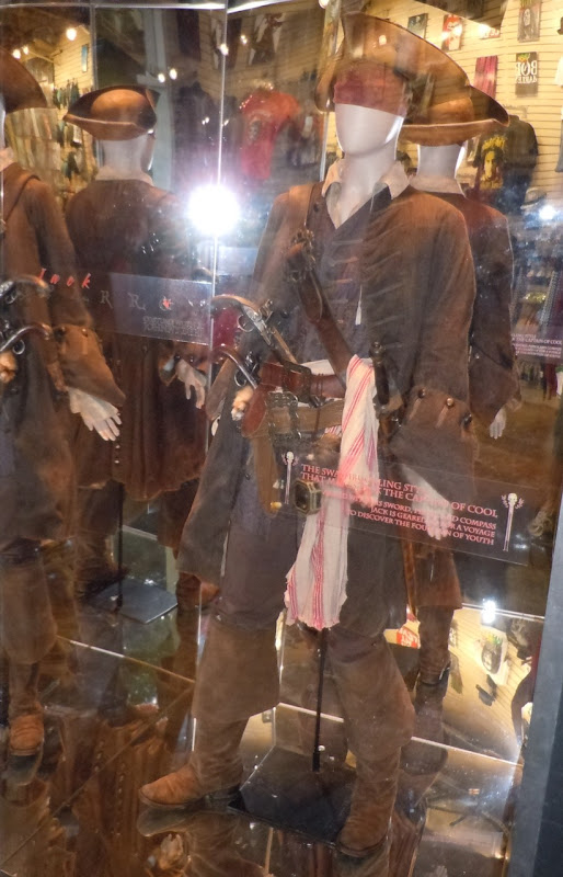 Pirates 4 Captain Jack Sparrow movie costume