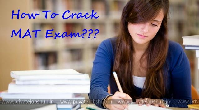 How to Crack MAT Exam