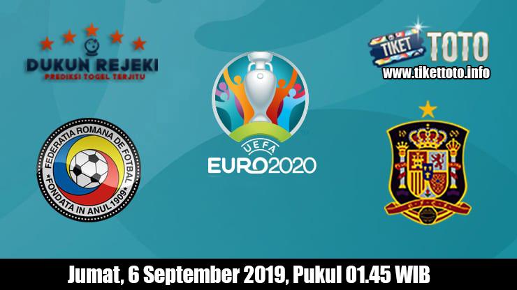 Prediksi Euro Qualification Rumania VS Spanyol 6 September 2019