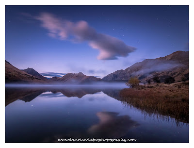Astrophotography, Moke Lake, Queenstown, Stars, Sunrise