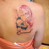 tatuaje temperas madre e hijo