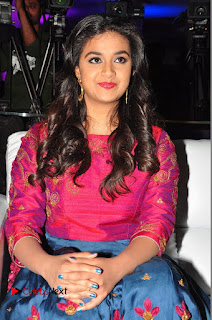 Actress Keerthi Suresh Stills at Remo Success Meet  0123.JPG