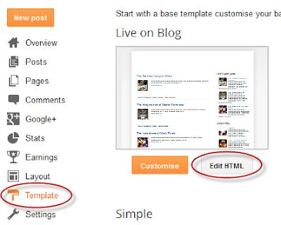Comment ajouter la Navigation en numérotation pour Blogger