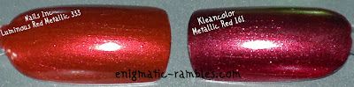 dupe-Nails-Inc-Luminous-Red-Metallic-333-V's-Kleancolor-Metallic-Red-161