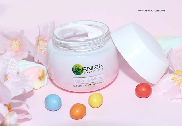 garnier Sakura White Pinkish Radiance Whitening Cream