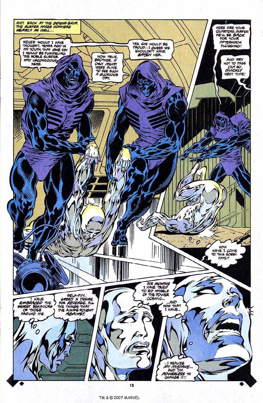 Read online Silver Surfer (1987) comic -  Issue #107 - 17