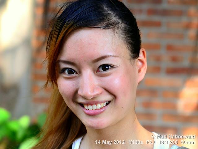 people, street portrait, headshot, beautiful eyes, Taiwan, Taipei, Taiwanese woman