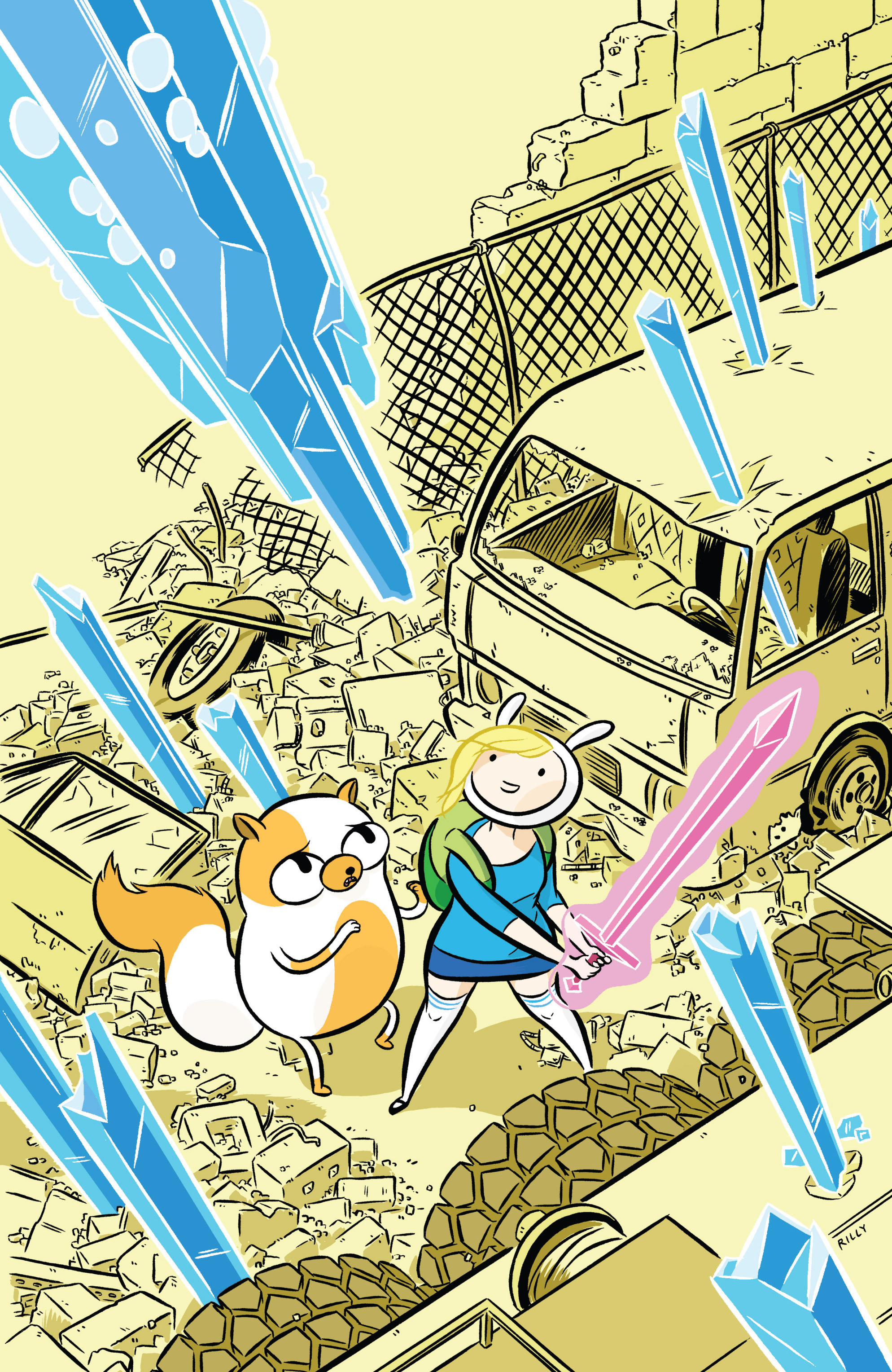Read online Adventure Time with Fionna & Cake comic -  Issue #1 - 4