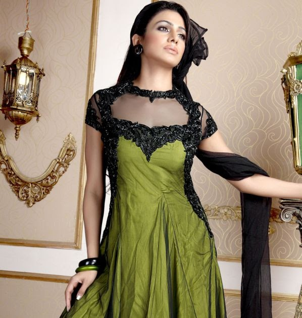 Hair Do For Indian Dressing Style: The Best Of Haircute And Hair Style: Indian Anarkali Frock