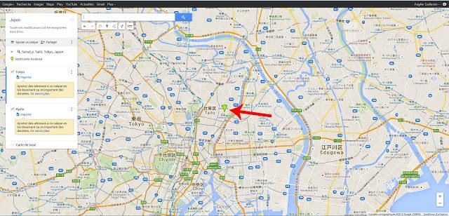 repère Google Maps