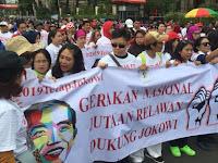 Relawan Jokowi: Acara di CFD Bukan Politik, Hanya Luncurkan Aplikasi