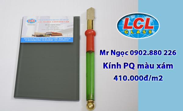 Kính Phản Quang màu xám LCL Glass