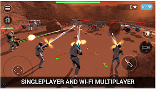 CyberSphere: SciFi third person shooter Apk