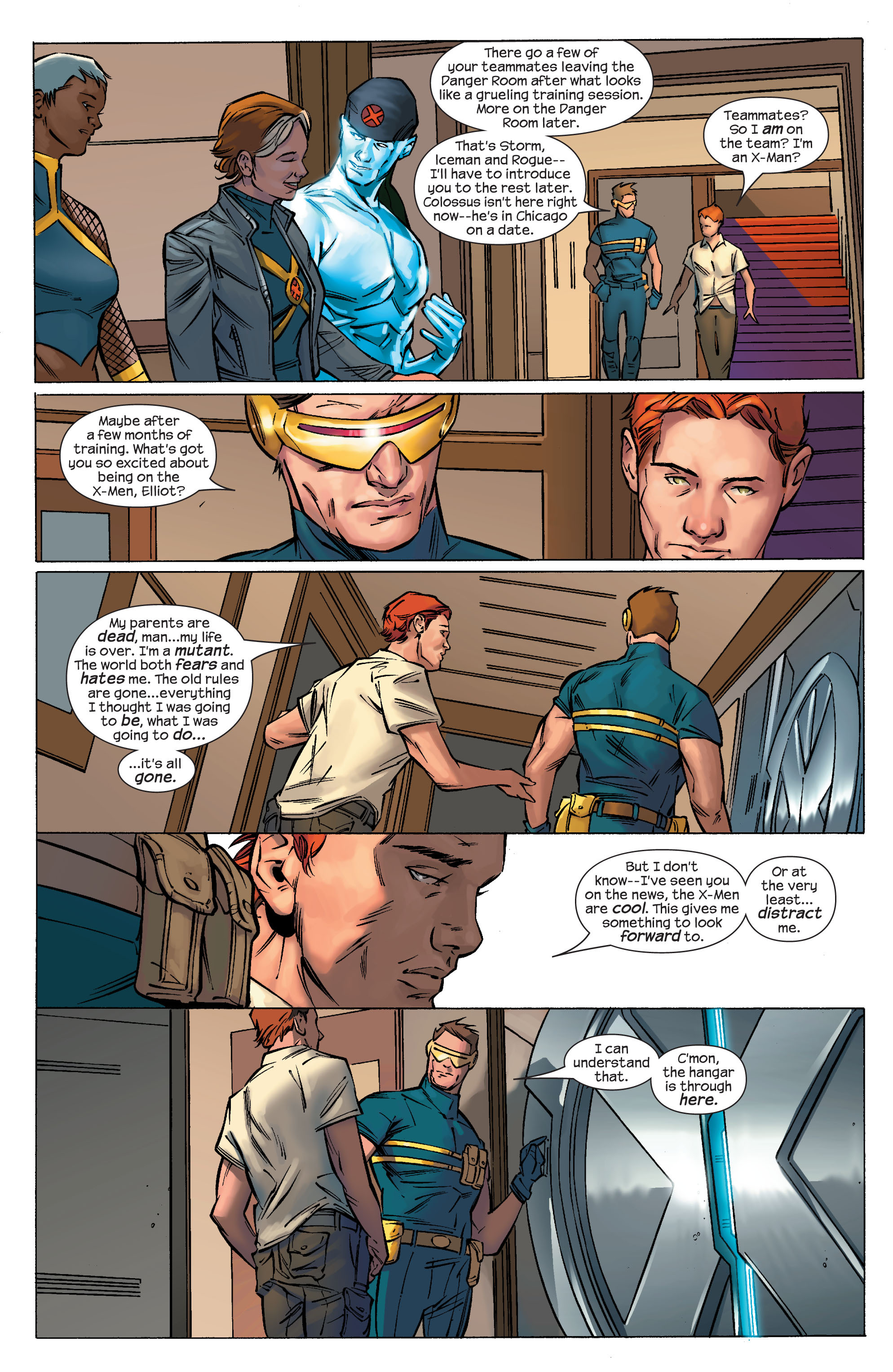 Read online Ultimate X-Men comic -  Issue #69 - 16