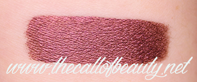 Lip Swatch: Gerard Cosmetic Metal Matte Liquid Lipstick Underworld