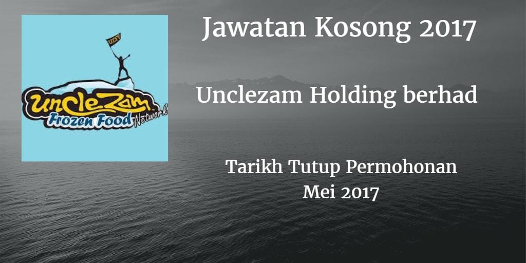 Jawatan Kosong UNCLEZAM HOLDING BERHAD Mei 2017