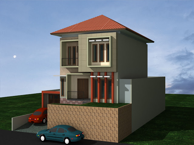 Model Rumah Basement Minimalis