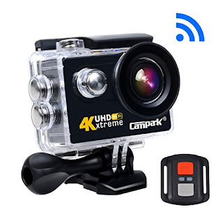 Campark® Accessori Supporti e Attacchi action cam compatibili ultra hd wifi 4k