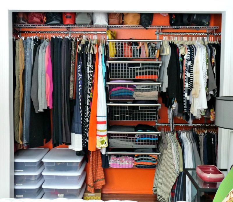 Rubbermaid closet organizer
