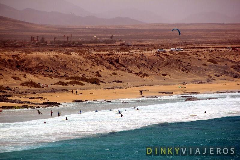 Fuerteventura. Playa El Aljibe de la Cueva (El Cotillo)